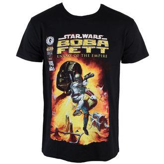 tričko pánské Star Wars - Boba Fett - PLASTIC HEAD - PH8840