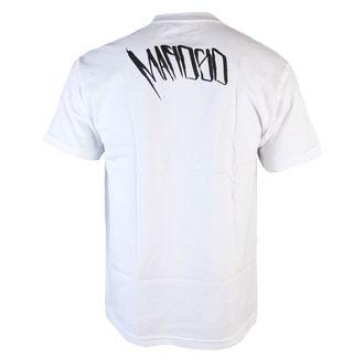 tričko pánské MAFIOSO - Backside - White, MAFIOSO