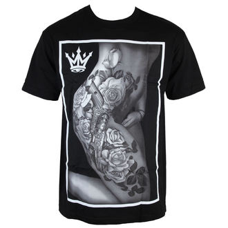 tričko pánské MAFIOSO - Body Art - Black, MAFIOSO