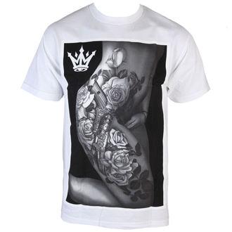 tričko pánské MAFIOSO - Body Art - White, MAFIOSO