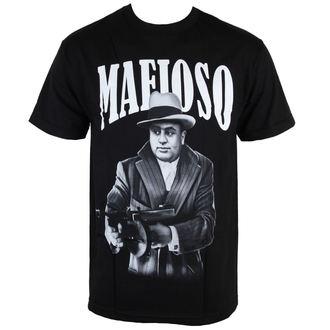tričko pánské MAFIOSO - Capone - Black, MAFIOSO