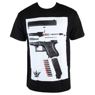 tričko pánské MAFIOSO - Dismantled - Black - 54002