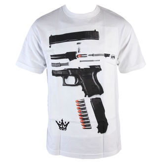 tričko pánské MAFIOSO - Dismantled - White, MAFIOSO