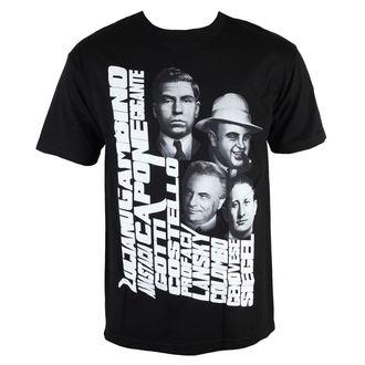 tričko pánské MAFIOSO - Mobbin 2.0 - Black - 54005