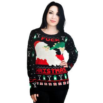 svetr dámský TOO FAST - Xmas - Drunk Santa