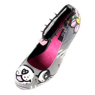 boty dámské (střevíce) IRON FIST - Pussycat Platform - Grey