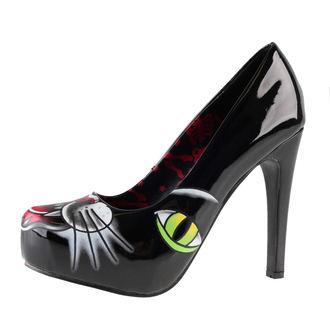boty dámské (střevíce) IRON FIST - Black Cat Platform - Black