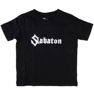 tričko dětské Sabaton - Logo - Black - Metal-Kids - 455-25-8-7