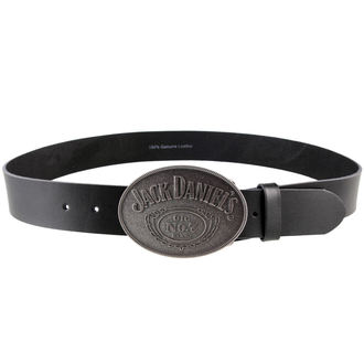 pásek Jack Daniels - With Oval Buckle - Black, JACK DANIELS