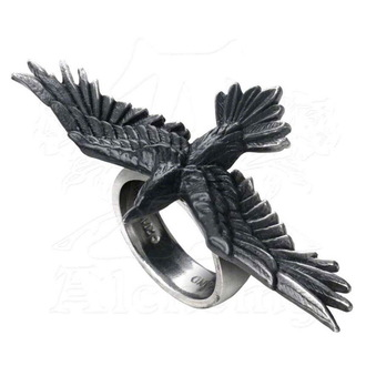 prsten ALCHEMY GOTHIC - Black Consort  Feature Rings - R205