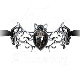 náramek ALCHEMY GOTHIC - Viennese Nights Ribbon Bracelet - A108
