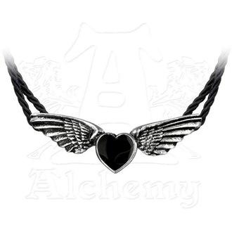 obojek ALCHEMY GOTHIC - Coeur Noir, ALCHEMY GOTHIC