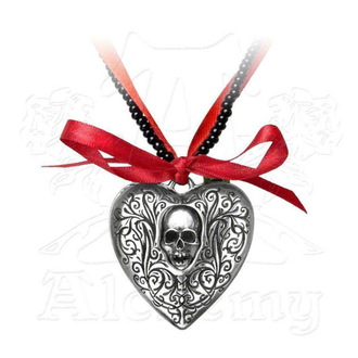obojek ALCHEMY GOTHIC - The Reliquary Heart Locket - P496