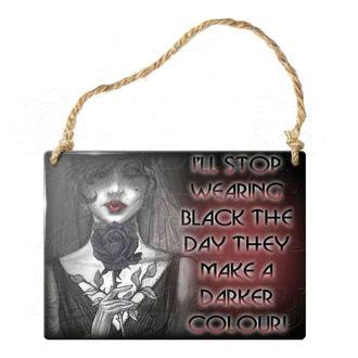 cedulka ALCHEMY GOTHIC - I´ll Stop Wearing Black, ALCHEMY GOTHIC