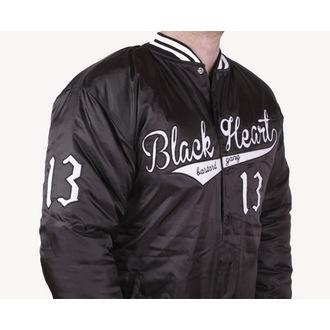 bunda pánská zimní (Baseball) BLACK HEART - BHB - Black, BLACK HEART
