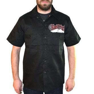 košile pánská BLACK HEART - Chopper Bastard - Black, BLACK HEART