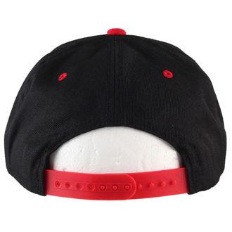 kšiltovka BLACK HEART - Stamp - Blk/Red
