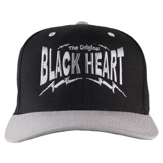 kšiltovka BLACK HEART - Snap Back - Blk/Grey, BLACK HEART