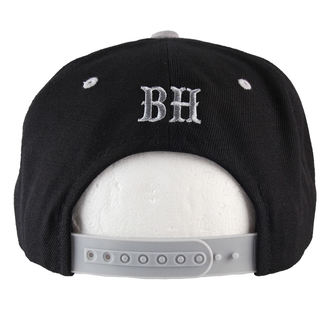 kšiltovka BLACK HEART - Snap Back - Blk/Grey