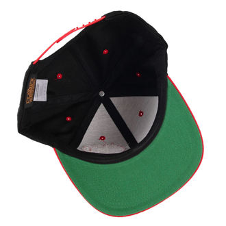 kšiltovka BLACK HEART - Snap Back - Blk/Red