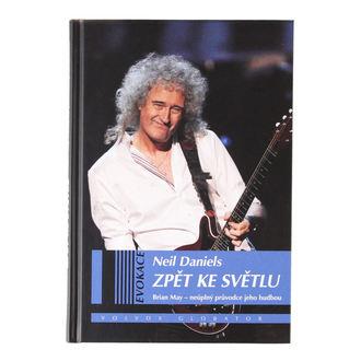 kniha Brian May - Zpět ke světlu - Neil Daniels, Queen