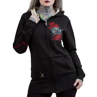 mikina dámská HYRAW - Roses, HYRAW