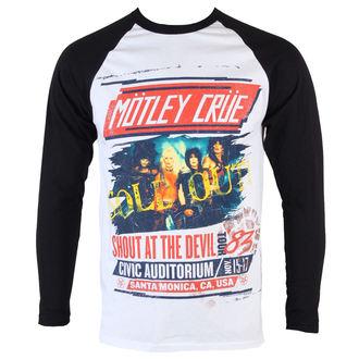 tričko pánské s dlouhým rukávem Mötley Crüe - SATD Tour - ROCK OFF, ROCK OFF, Mötley Crüe
