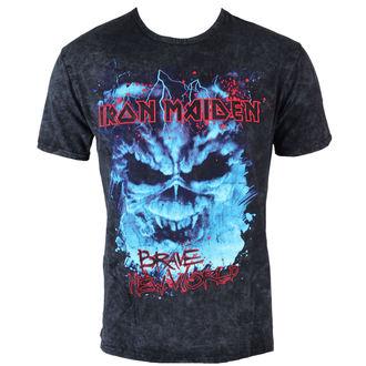 tričko pánské Iron Maiden - Brave New World Puff - ROCK OFF, ROCK OFF, Iron Maiden