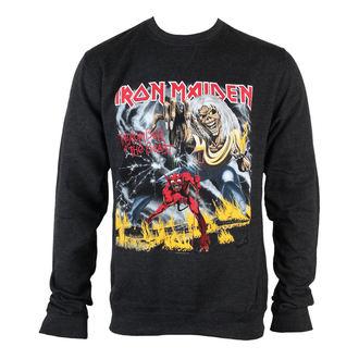mikina pánská Iron Maiden - NOTB Puff Print  - ROCK OFF, ROCK OFF, Iron Maiden