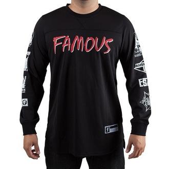 tričko pánské s dlouhým rukávem (dres)  FAMOUS STARS & STRAPS - Raised On Rap