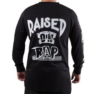 tričko pánské s dlouhým rukávem (dres)  FAMOUS STARS & STRAPS - Raised On Rap, FAMOUS STARS & STRAPS