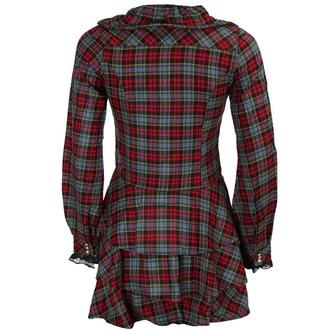 šaty dámské DEAD THREADS - Blk/Red/Grey, DEAD THREADS