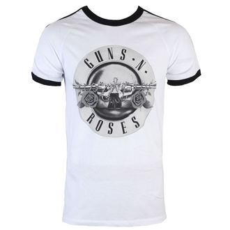 tričko pánské Guns N' Roses - Bullet Logo Soccer - BRAVADO, BRAVADO, Guns N' Roses