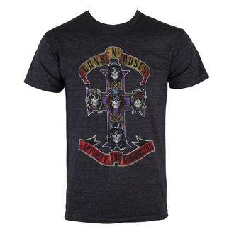 tričko pánské Guns N' Roses - Appetite Destruction - BRAVADO, BRAVADO, Guns N' Roses
