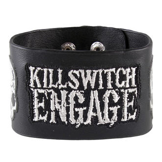 náramek Killswitch Engage - Logo & Skull - BRAVADO, BRAVADO, Killswitch Engage