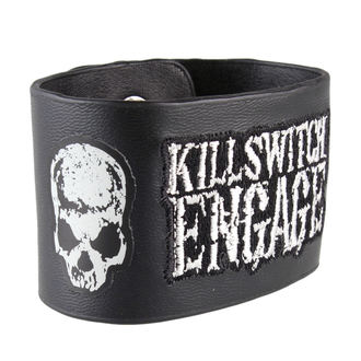 náramek Killswitch Engage - Logo & Skull - BRAVADO