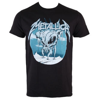 tričko pánské Metallica - Ice Black - BRAVADO, BRAVADO, Metallica