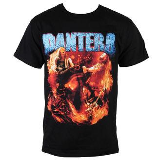 tričko pánské Pantera - Flames Vintage - BRAVADO, BRAVADO, Pantera