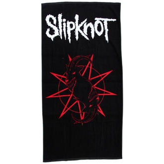ručník (osuška) Slipknot - Distressed Logo - BRAVADO, BRAVADO, Slipknot