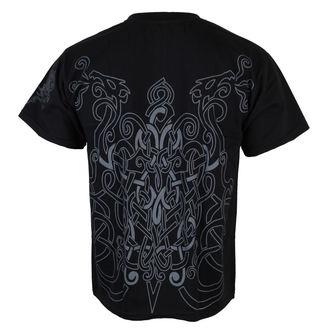 tričko pánské ALISTAR - Odin&Drakkars - Black, ALISTAR