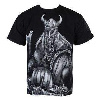 tričko pánské ALISTAR - Warrior&Drakkars - Black - ALI170