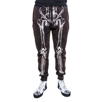 kalhoty pánské (tepláky) IRON FIST - Wishbone Sweatpants - Black - IFM003732