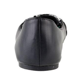 boty dámské (baleríny) IRON FIST - Peek A Boo Flat - Black