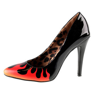boty dámské (střevíce) IRON FIST - Fire Sign Point Heel - Black, IRON FIST