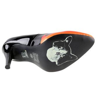 boty dámské (střevíce) IRON FIST - Fire Sign Point Heel - Black