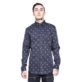 košile pánská IRON FIST - GFY - Black, IRON FIST