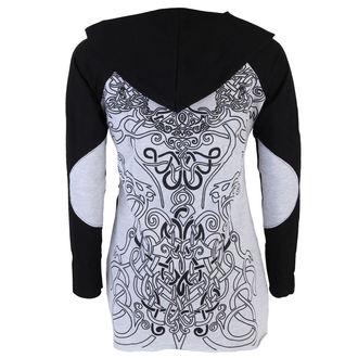 tričko dámské s dlouhým rukávem (tunika) ALISTAR - Viking Symbols - Grey, ALISTAR
