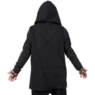 mikina (unisex) AMENOMEN - Pentagram - Black - DESIRE-008