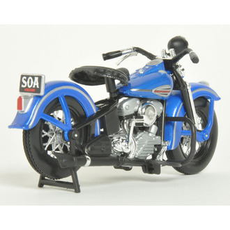 dekorace Sons Of Anarchy - Modell 1/18 1946 Harley-Davidson