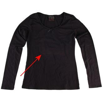 tričko dámské s dlouhým rukávem QUEEN OF DARKNESS - POŠKOZENÉ